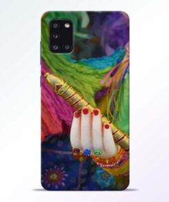 Krishna Hand Samsung Galaxy A31 Mobile Cover - CoversGap