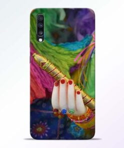 Krishna Hand Samsung Galaxy A70 Mobile Cover - CoversGap