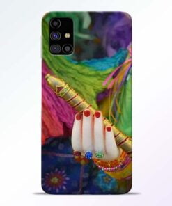 Krishna Hand Samsung Galaxy M31s Mobile Cover - CoversGap