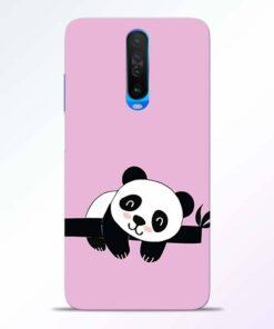 Lazy Panda Poco X2 Back Cover