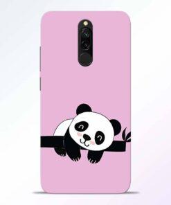 Lazy Panda Redmi 8 Back Cover