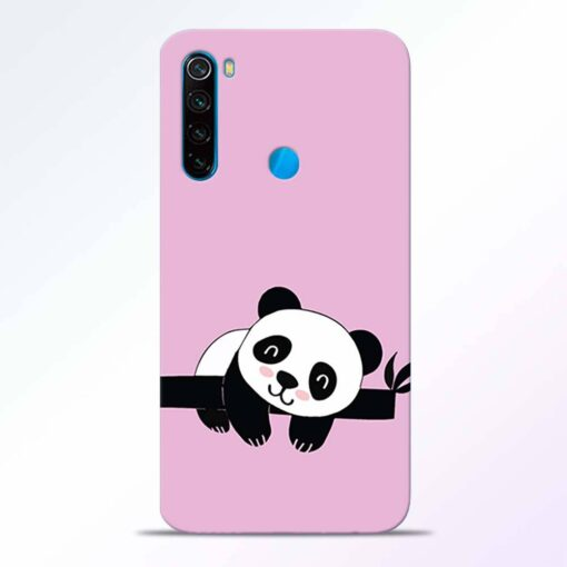 Lazy Panda Redmi Note 8 Back Cover