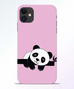 Lazy Panda iPhone 11 Back Cover