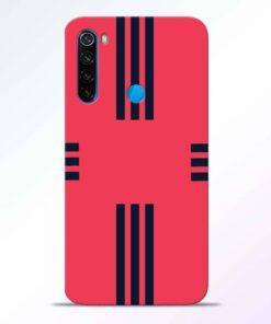 Left Right Stripes Redmi Note 8 Back Cover