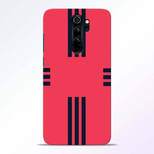 Left Right Stripes Redmi Note 8 Pro Back Cover