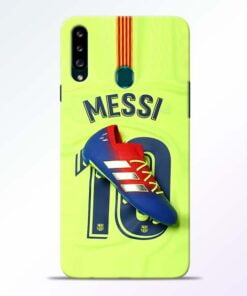 Leo Messi Samsung Galaxy A20s Mobile Cover - CoversGap