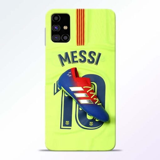 Leo Messi Samsung Galaxy M31s Mobile Cover - CoversGap