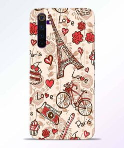 Love Paris Realme 6 Back Cover