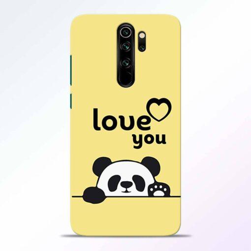 Love U Panda Redmi Note 8 Pro Back Cover