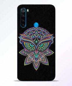 Mandala Owl Redmi Note 8 Back Cover