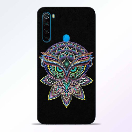 Mandala Owl Redmi Note 8 Back Cover