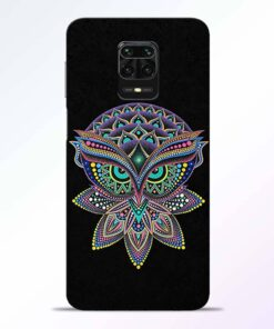 Mandala Owl Redmi Note 9 Pro Back Cover