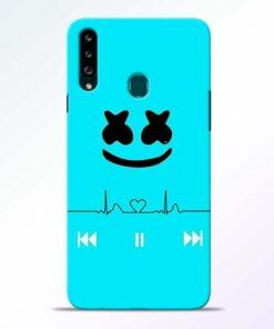 Marshmello Song Samsung Galaxy A20s Mobile Cover - CoversGap