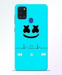 Marshmello Song Samsung Galaxy A21s Mobile Cover - CoversGap
