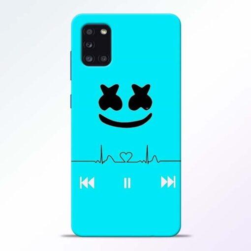 Marshmello Song Samsung Galaxy A31 Mobile Cover - CoversGap