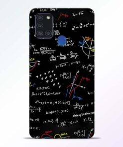 Math Lover Samsung Galaxy A21s Mobile Cover - CoversGap