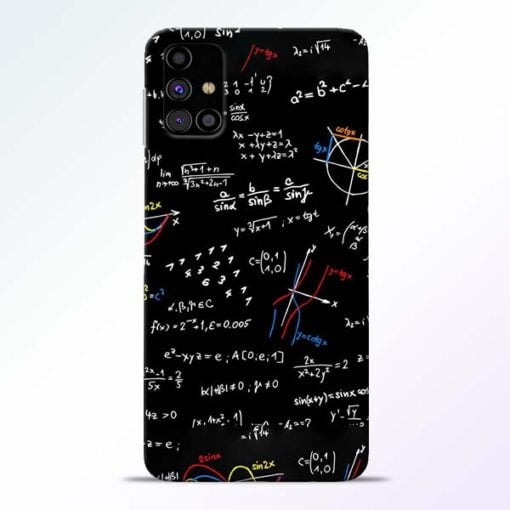 Math Lover Samsung Galaxy M31s Mobile Cover - CoversGap