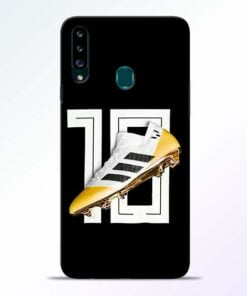 Messi 10 Samsung Galaxy A20s Mobile Cover - CoversGap