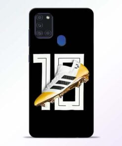 Messi 10 Samsung Galaxy A21s Mobile Cover - CoversGap