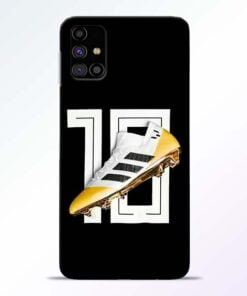 Messi 10 Samsung Galaxy M31s Mobile Cover - CoversGap