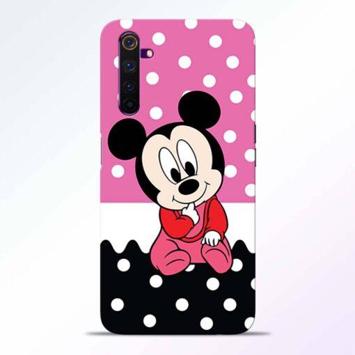 Mickey Baby Realme 6 Back Cover