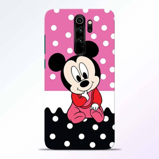 Mickey Baby Redmi Note 8 Pro Back Cover