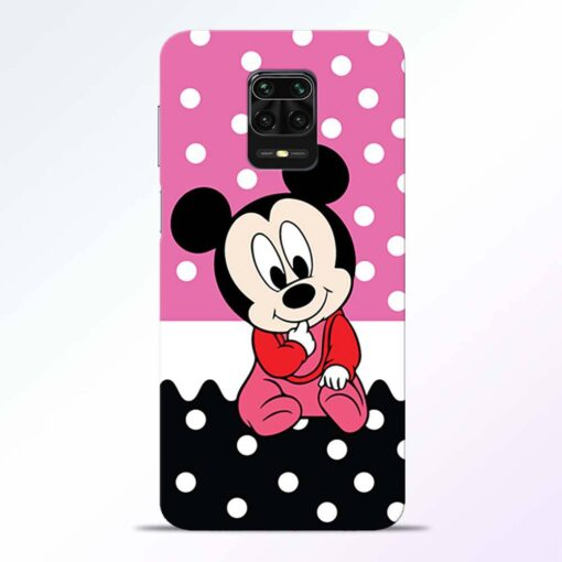 Mickey Baby Redmi Note 9 Pro Back Cover