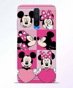 Mickey Minnie Poco X2 Back Cover