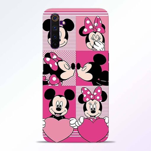 Mickey Minnie Realme 6 Back Cover