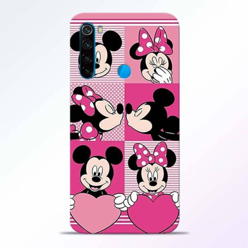 Mickey Minnie Redmi Note 8 Back Cover