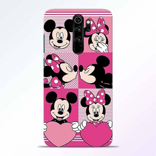 Mickey Minnie Redmi Note 8 Pro Back Cover