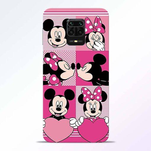 Mickey Minnie Redmi Note 9 Pro Back Cover