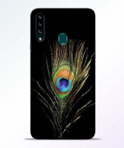 Mor Pankh Samsung Galaxy A20s Mobile Cover - CoversGap