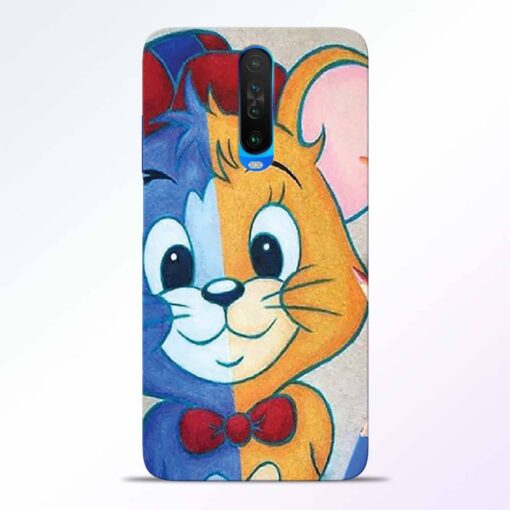 Mouse Face Poco X2 Back Cover