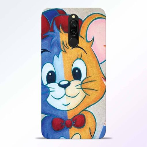 Mouse Face Redmi 8 Back Cover