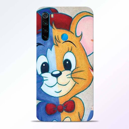 Mouse Face Redmi Note 8 Back Cover
