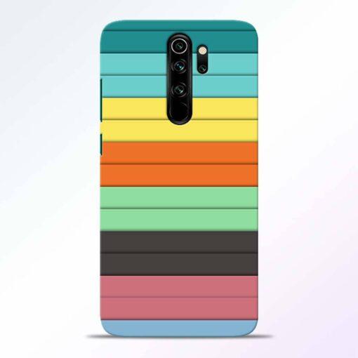 Multi Color Strap Redmi Note 8 Pro Back Cover