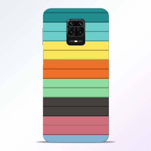Multi Color Strap Redmi Note 9 Pro Back Cover