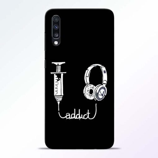 Music Addict Samsung Galaxy A70 Mobile Cover - CoversGap