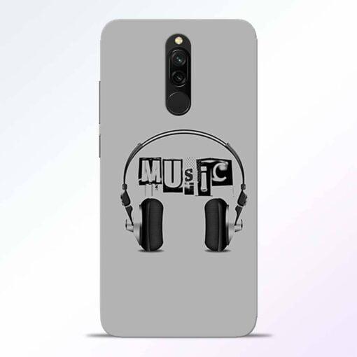 Musicaholic Redmi 8 Back Cover