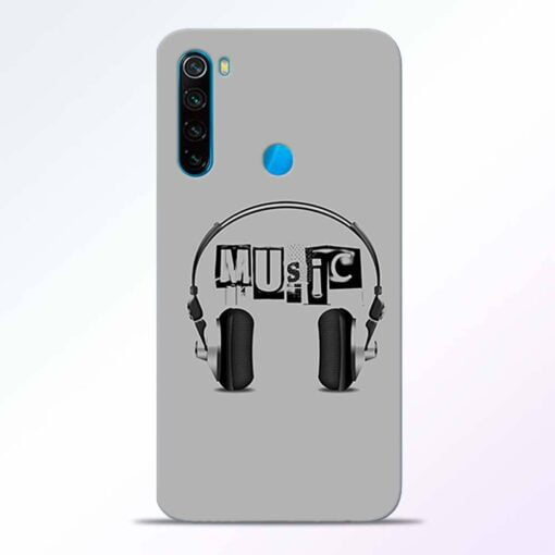 Musicaholic Redmi Note 8 Back Cover