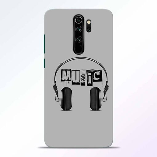 Musicaholic Redmi Note 8 Pro Back Cover
