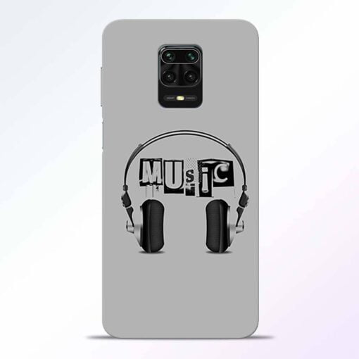 Musicaholic Redmi Note 9 Pro Back Cover