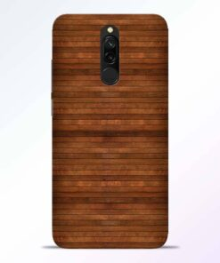Pine Wood Redmi 8 Back Cover