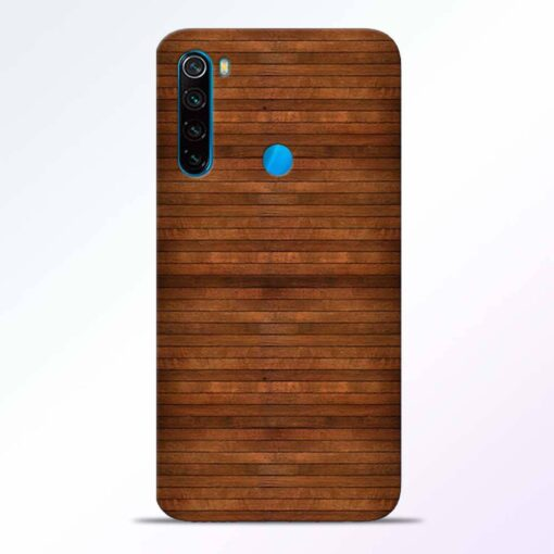 Pine Wood Redmi Note 8 Back Cover