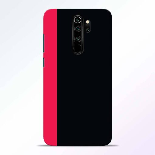 Pink Black Redmi Note 8 Pro Back Cover