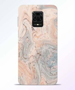 Pink Marble Redmi Note 9 Pro Back Cover