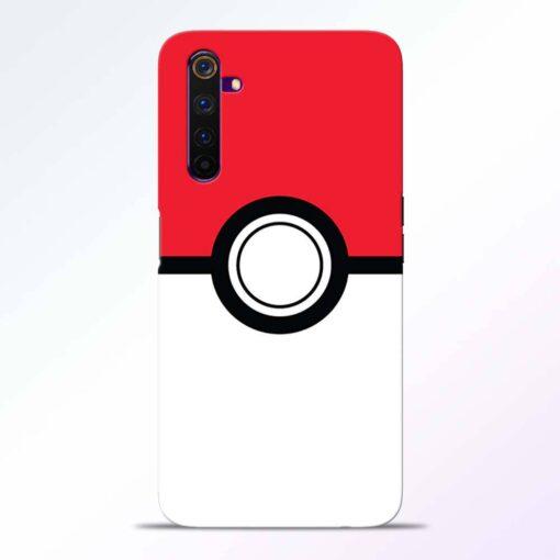 Pokemon Ball Realme 6 Back Cover