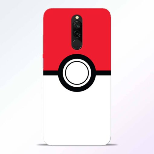 Pokemon Ball Redmi 8 Back Cover