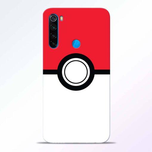 Pokemon Ball Redmi Note 8 Back Cover